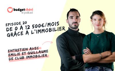 Episode #20 De 0 à 12 500€/mois grâce à l'investissement locatif