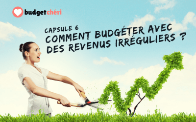 Capsule #6 Peut-on budgéter avec des revenus irréguliers ?